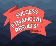 Запись примечания показывая финансовые результаты успеха Количество фото дела showcasing выгоды компания делает во время сложенно бесплатная иллюстрация