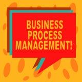 Запись управления бизнес-процесса показа примечания Дисциплина фото дела showcasing улучшать бизнес-процесс бесплатная иллюстрация