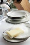 запиток тарелки Стоковые Фотографии RF