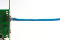 заплата интерфейса карточки кабеля Стоковое Изображение