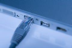 заплата кабельной сети Стоковое Фото