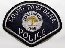Заплата плеча южного Управления полиции Пасадина в Калифорния стоковые изображения