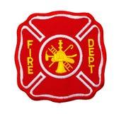 Заплата Dept огня стоковое фото rf