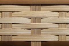 Заплетенная бамбуковая предпосылка стоковые изображения rf