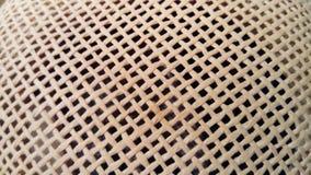 Заплетенная поверхность шляпы стоковые изображения