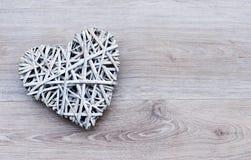 Заплетенное сердце стоковая фотография rf