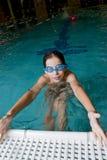 заплывание бассеина Стоковое Фото