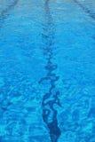 заплывание бассеина Стоковое фото RF