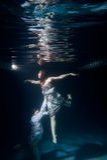 заплывание пар стоковое фото rf