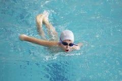 заплывание спорта Стоковая Фотография