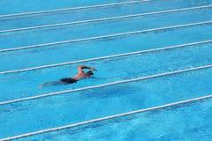 заплывание фристайла Стоковые Фото