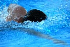 заплывание Стоковое Изображение