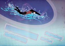 Заплывание Стоковые Фотографии RF