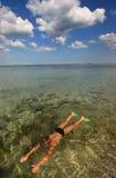 заплывание стоковое фото rf