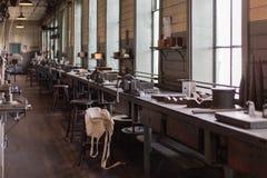Заповедники парка Томас Эдисон национальные исторические стоковые фото