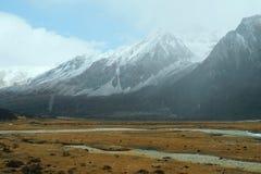 Заповедник Yading на префектуре Sichuan's Garze тибетской автономной, Китае стоковые изображения