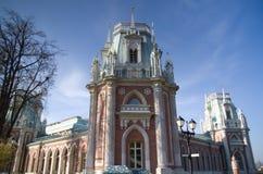 Заповедник Tsaritsyno музея, грандиозный дворец Стоковые Изображения