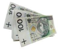 заполированность бумажных денег Стоковые Изображения RF