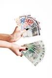 заполированность дег серии евро Стоковые Изображения