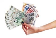 заполированность дег серии евро Стоковая Фотография