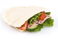 заполненное хлебом карманн pitta Стоковое Изображение RF