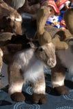 Заполненные игрушки северного оленя Стоковое фото RF
