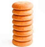 заполненные печенья Стоковые Фото