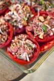 заполненные томаты Стоковая Фотография
