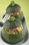 заполненные zucchinis Стоковые Изображения RF