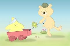 заполненный медведь Стоковое Фото