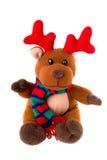 заполненный северный олень рождества стоковое изображение rf