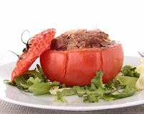 Заполненный томат с говядиной Стоковое Изображение RF