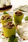 заполненный zucchini стоковое изображение rf