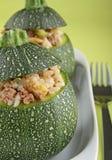 заполненный zucchini Стоковые Изображения