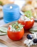 заполнено tomatoed Стоковое Изображение