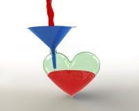 заполните жизнь s сердца за исключением кто-то Стоковые Изображения RF