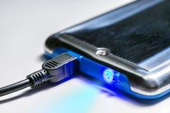 Запоминающее устройство Приборы техника подключенные с информацией стоковое изображение