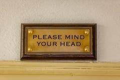 Запомните вашу головную металлическую пластинку Стоковые Фото