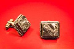 Запонки для манжет Стоковое фото RF
