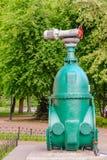 Запорные заслонки и насос, трубопровод воды, цепь жары стоковое изображение rf