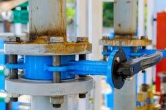 Запорный клапан дроссельного затвора для того чтобы предотвратить обратный поток воды Стоковые Фотографии RF