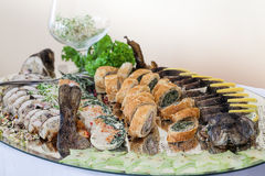 Заполненная еда стоковые фотографии rf