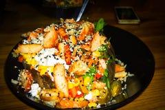 Заполненная испеченная картошка плоско турецкая Стоковые Фото