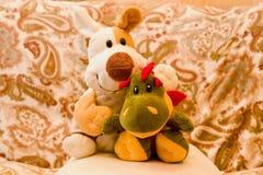 заполненные игрушки Стоковое фото RF