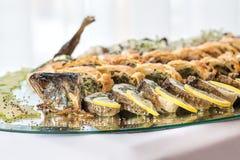 Заполненные рыбы стоковые изображения