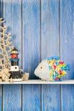 Заполненные смешные рыбы дома Стоковое Изображение