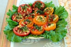 заполненные томаты Стоковая Фотография RF