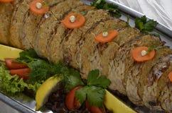 Заполненные части крена рыб Стоковые Фотографии RF