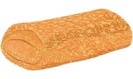 Заполненные crepes блинчика с заполнять Иллюстрация вектора