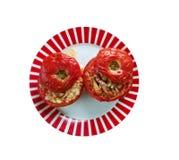 Заполненный томат Ближний Востока Стоковые Фото